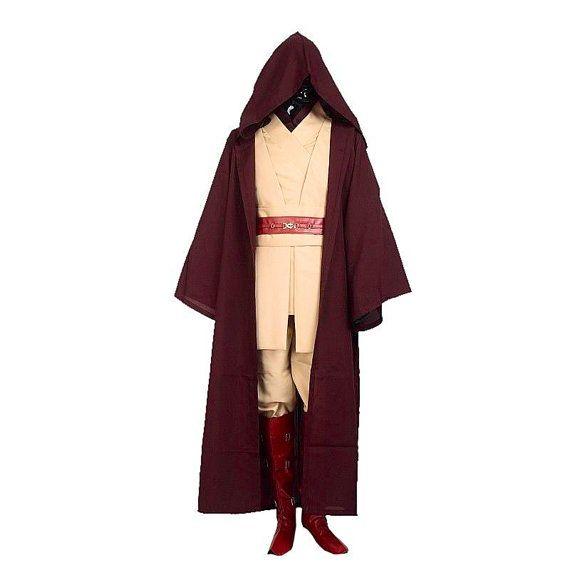 Adult Obi-Wan Kenobi Costume Star Wars Fancy Dress by FDQVintage