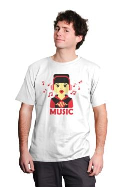 DJ Music. Mezcla, Remix. Estampa tus poleras con coloridos y entretenidos diseños. Poleras 100% algodón. Variados y entretenidos diseños. Introduce este código 1ZN3V9T7Q para obtener un descuento en tu compra. Envios a todo Chile. #polera #camiseta #estampado #Chile #music