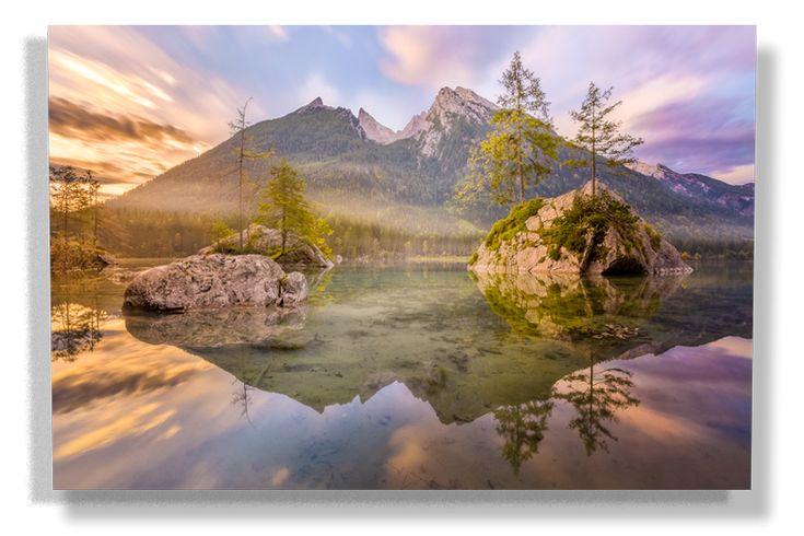 Der Hintersee Beschreibt Wohl Am Besten Die Romantik Eines Alpinen  Bergsees. Aus Diesem Grund Ist