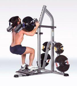 Tuff Stuff RPS-390 Power Squat / Calf Machine