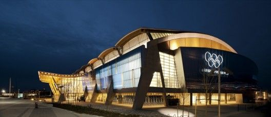 Richmond Olympic Oval / Cannon Design -- The 2010 Winter Olympics and Paralympics taking place in Vancouver, Canada open today and we'd like to introduce you one of the most important venues designed for the event.<<< from: archdaily.com  - building of the year, awards 2010>>>