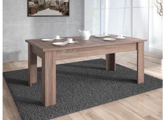 Eetkamertafel Alvarez is een tafel die geschikt is voor 4 tot 6 personen. Deze tafel is geschikt voor elke stijl eetkamer of woonkamer vanwege zijn strakke design. De lengte is 160 cm, hoogte 76 cm en breedte 90 cm. Tevens is de tafel voorzien van drie jaar garantie.