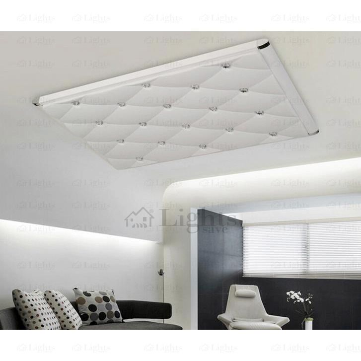Rectangle Acrylic and Hardware Modern LED Ceiling Lights