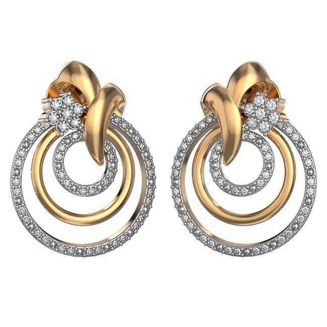 Ild Jewellers Diwali Offers | Floral Loops Earrings | Dhanteras Offers Online  https://www.ilovediamonds.com/shipsfast.html?ild_category=233?-4718k Gold Diamond Jhumkas, diwali offers gold & diamond jewellery coimbatore, chennai or bangalore, Joyalukkas Diwali Collection, Top 5 Jewellers In India, Joyalukkas Diwali Catalogue, Top 10 Jewellers Of India