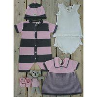 Knitted Cotton Girls $150 Gift Set