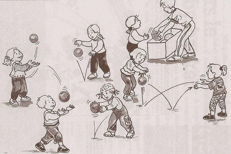 Ronde     Je n'ai jamais trouvé un article synthétisant les principales activités physiques qu'on pouvait proposer aux tout-petits , alors...