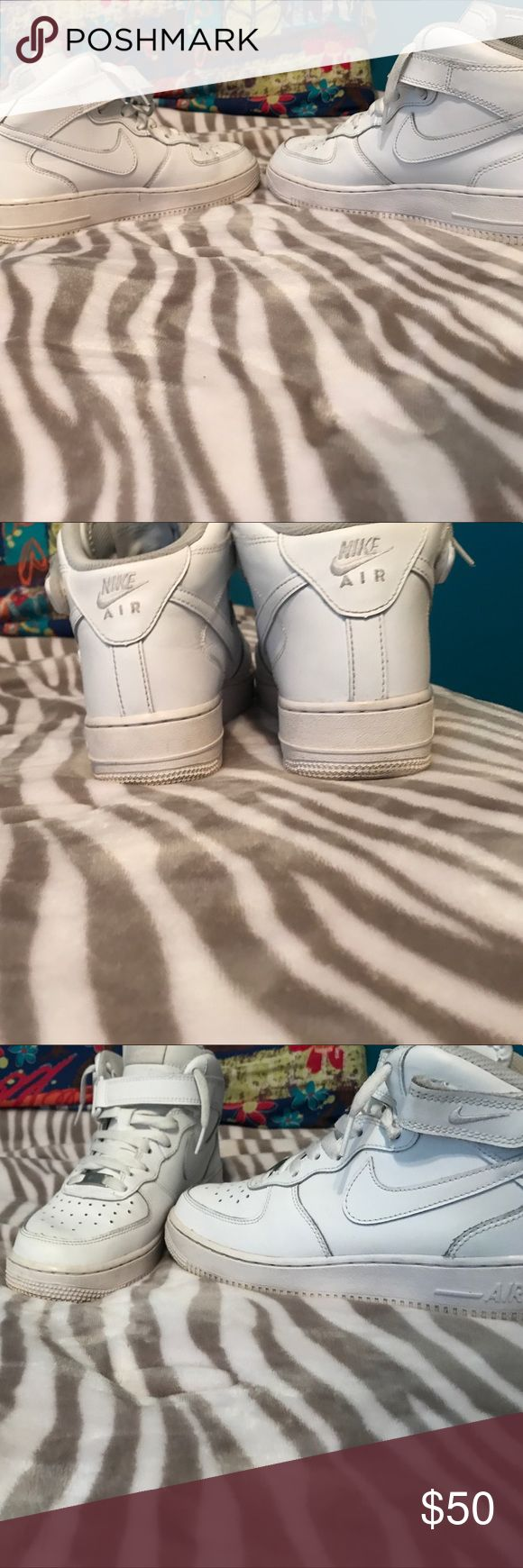Nike Air Force 1's mid 9/10 condition Nike Shoes Sneakers