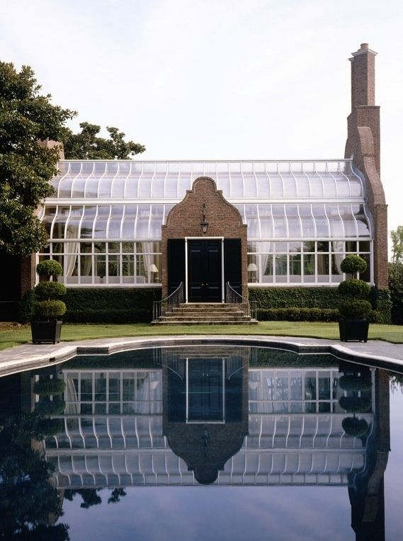 Greenhouse interior pinterest gardens dream garden for Swimming pool converted to greenhouse