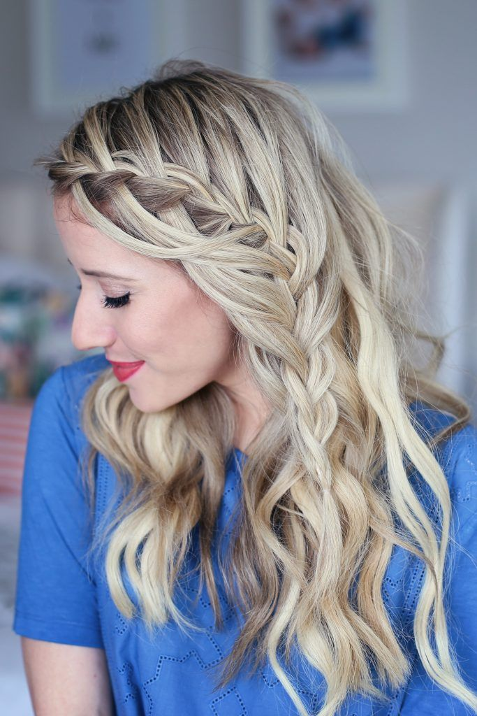 Cascading Waterfall | Cute Girl's Hairstyles