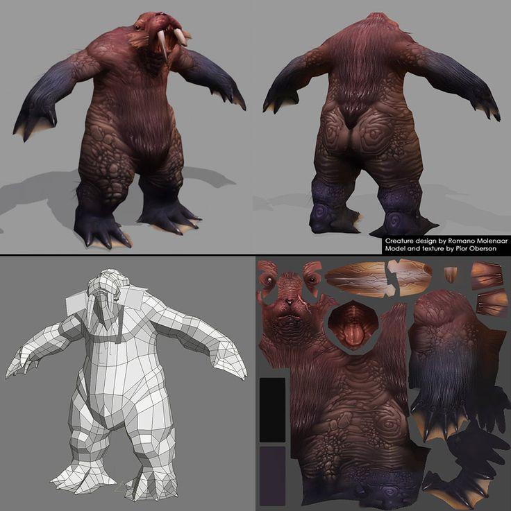 Spellborn 2 Creature by Pior Oberson