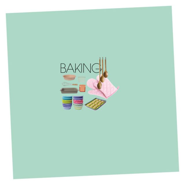 """""""Baking"""" by sophieunderthestairs on Polyvore featuring interior, interiors, interior design, home, home decor, interior decorating, Wilton, Jamie Oliver, BergHOFF and Zeal"""