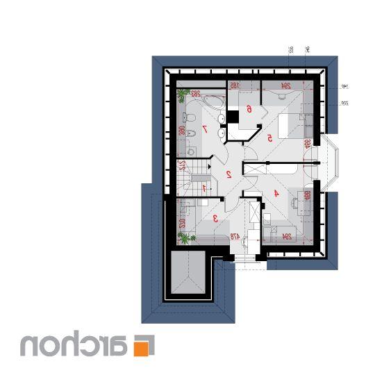 Дом в рукколе | План мансарды