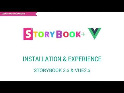 Check out my latest video: Storybook3.x & Vue2.x - Installation and First hand Experience https://youtube.com/watch?v=VHmooJ46GiE