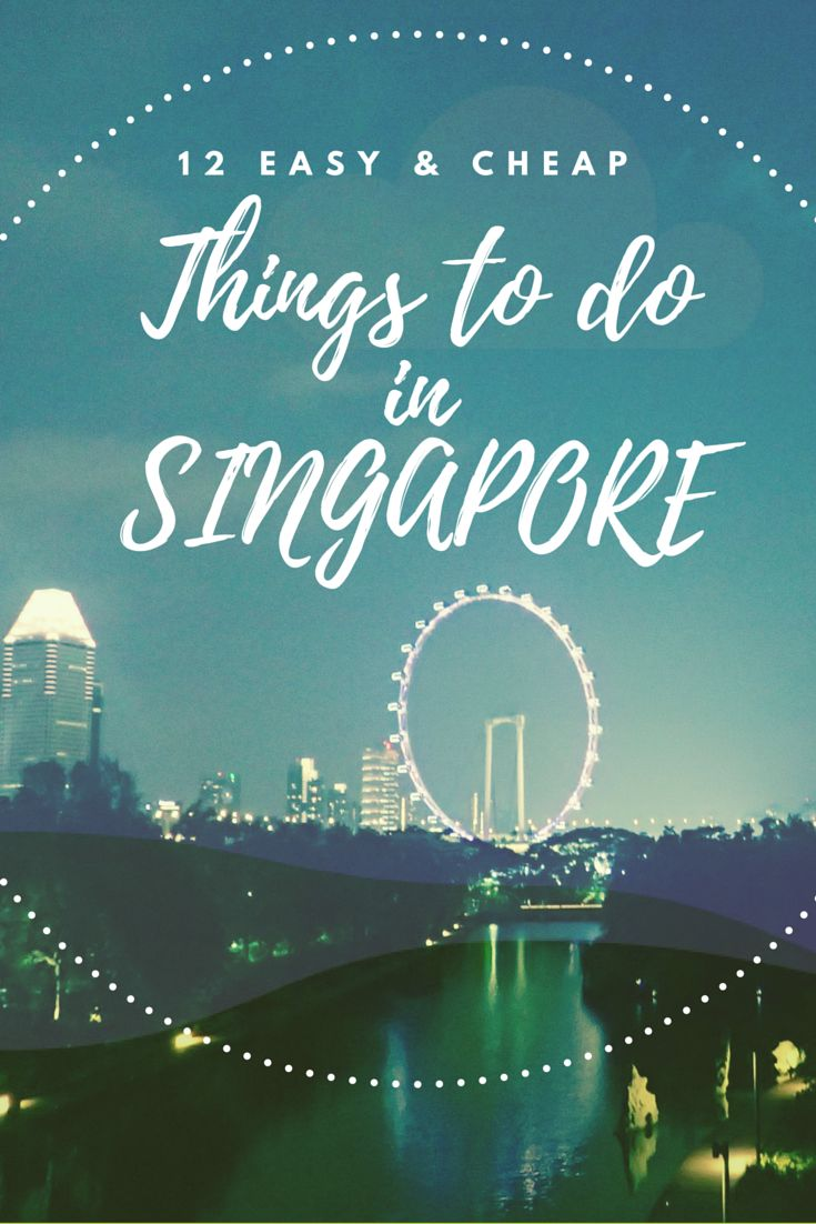 I love Singapore - there is so much to do in this vibrant city. If you know where to go you can even do it on a budget, which is great if you are a backpacker like me :)