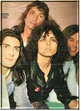TAG'S MARC BOLAN & T-REX INFORMATION PAGES