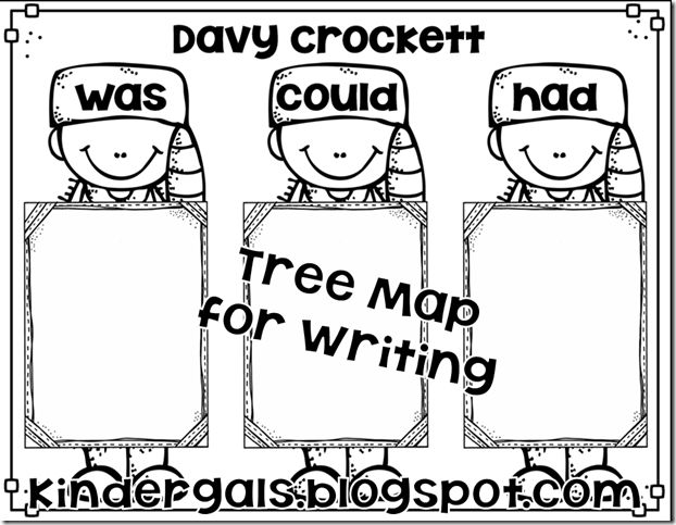 davy crockett american folk hero freebee