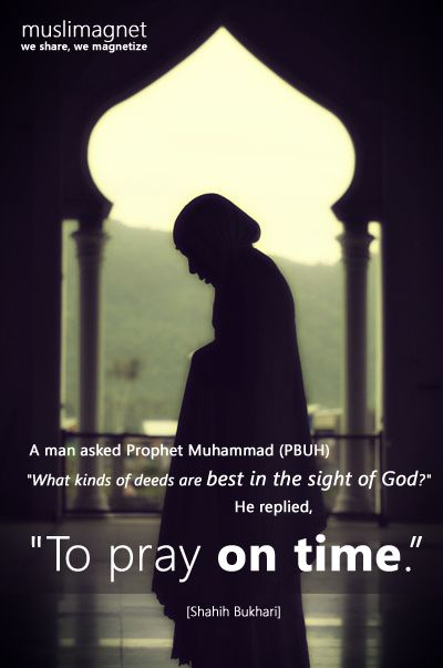 DesertRose~To Pray on Time (Sahih Bukhari Hadith)Originally found on: beautyislam~