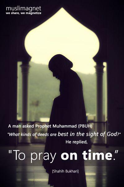 .pray on time