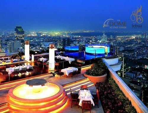 Lebua hotel Bangkok great place to stay eat rest