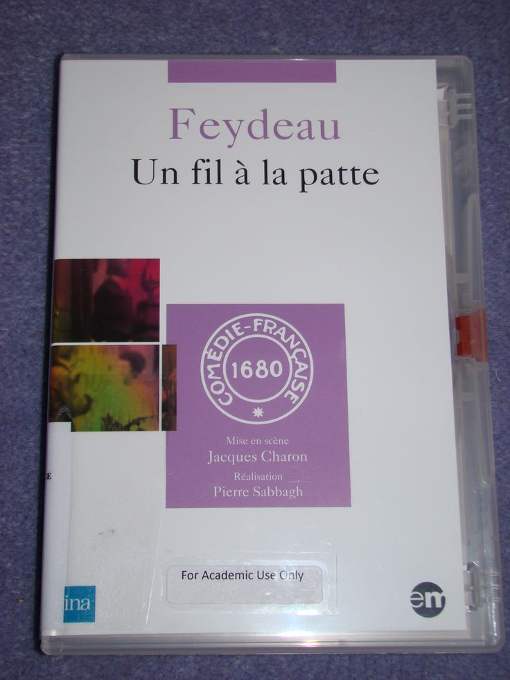 Un fil à la patte [videorecording (DVD)] / [director] Pierre Sabbagh, [stage director] Jacques Charon; author Feydeau. - XTT FEY 6FI 2QT Sab