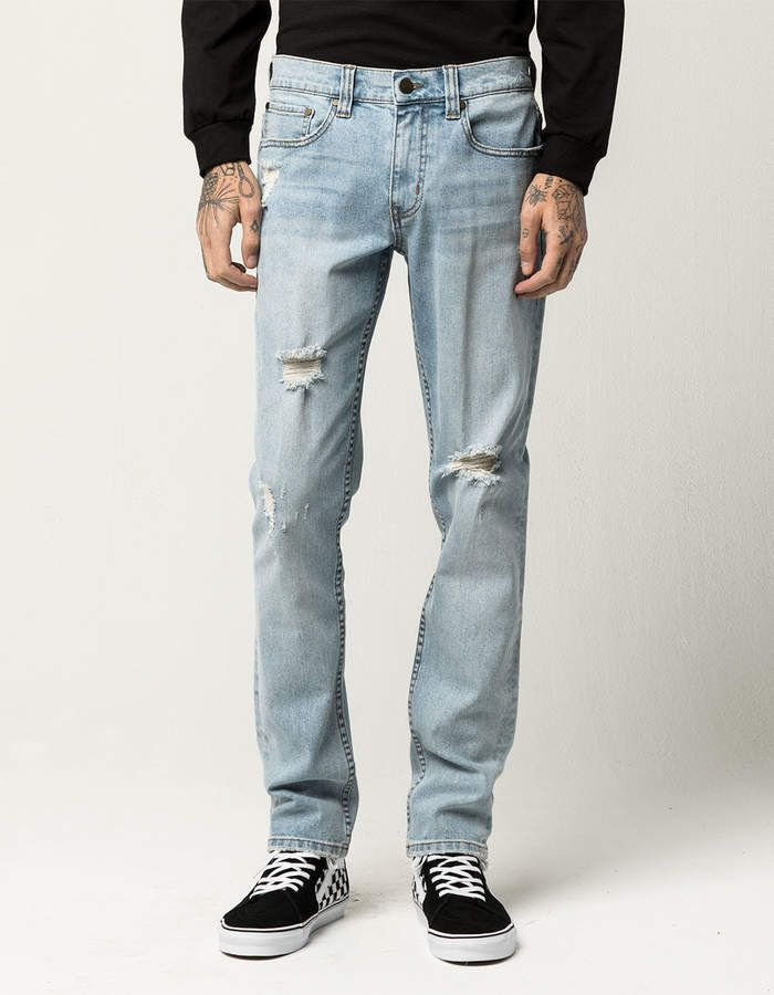 a3fd665f8 Rsq Brooklyn Relaxed Mens Ripped Jeans   Clothing   Ripped jeans men ...