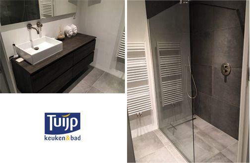 Stijlvol, rustig & chique, een fraai afgewerkte badkamer. Zou dit bij jou thuis ook mooi staan? #Tuijp #Badkamers #Volendam #Amsterdam