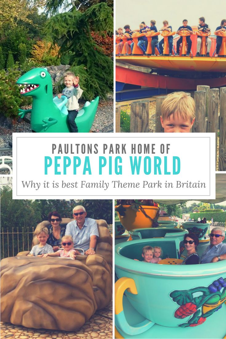 Paultons Park,, home of Peppa Pig World. One of the best UK Theme parks for younger children. Read this before you go. #UK #themepark