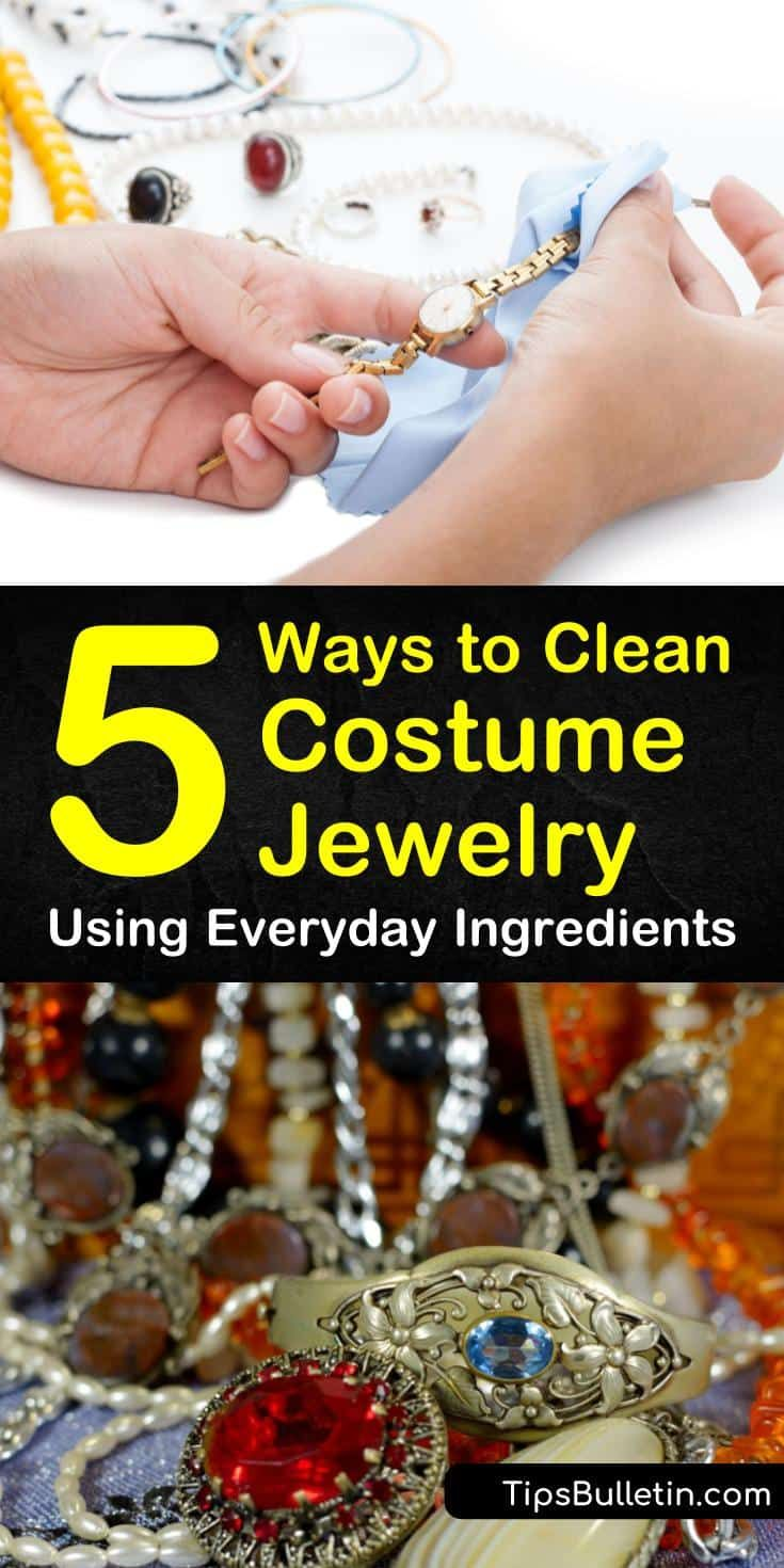 5 Easy Ways To Clean Costume Jewelry Homemade Jewelry Cleaner Fake Jewelry Costume Jewelry