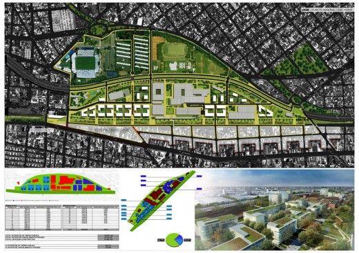 Ganador Concurso Playa Ferroviaria Liniers intervencion urbana recomendados concurso arquitectura argentina