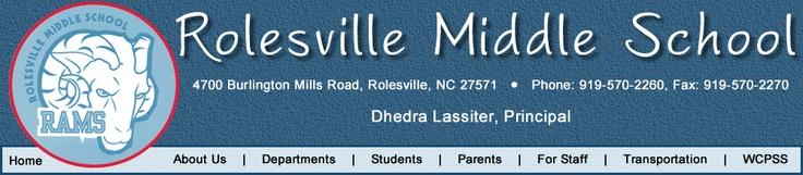 Rolesville Middle School Community Pinterest Middle