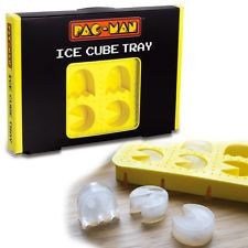 Paladone Pac-Man Silicone Ice Cube Tray Novelty Ghost Shapes Retro Arcade Gaming