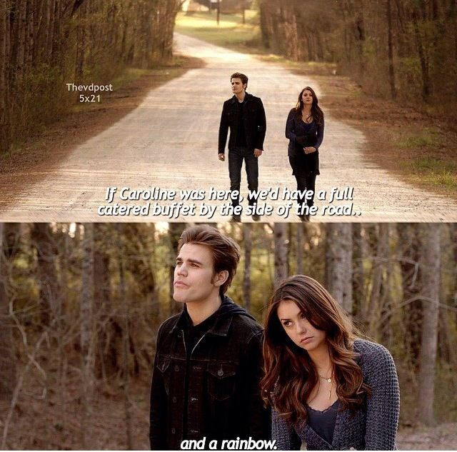 """S5 Ep21 """"Promised Land"""" - Stefan and Elena"""