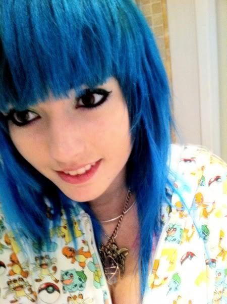 Black And Blue Scene Hair Leda 1000+ ideas about Leda...
