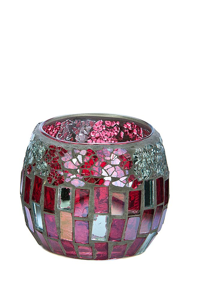 For those that like a bit of bling and pattern, you'll like our Red and Silver medium mosaic. To see our entire range of mosaics, please click here: http://bit.ly/1zHtguh