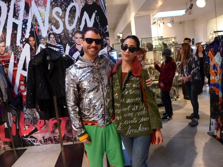 Johnson Hartig, Designer of the Cult Label Libertine, Celebrates ...