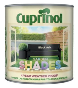 Cuprinol Garden Shades Black Ash 2.5L | Wickes.co.uk