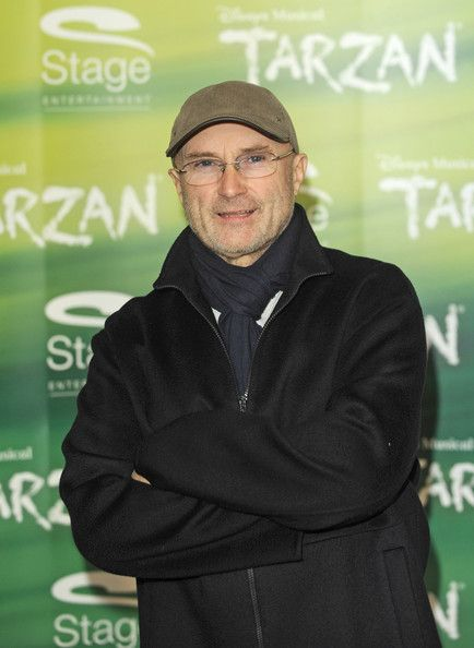Phil Collins - Phil Collins Attends Tarzan Musical 3rd Anniversary