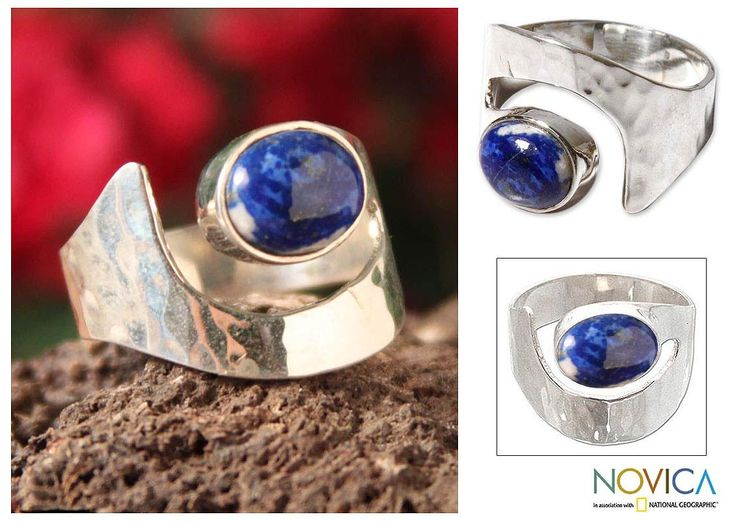 Sterling Silver 'Balance' Lapis Lazuli Ring (Peru) - Overstock™ Shopping - Great Deals on Novica Rings