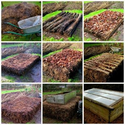 The Homestead Survival | Make a Gardening Hotbed To Get A Jump On Growing | Gardening & Homesteading -   http://thehomesteadsurvival.com
