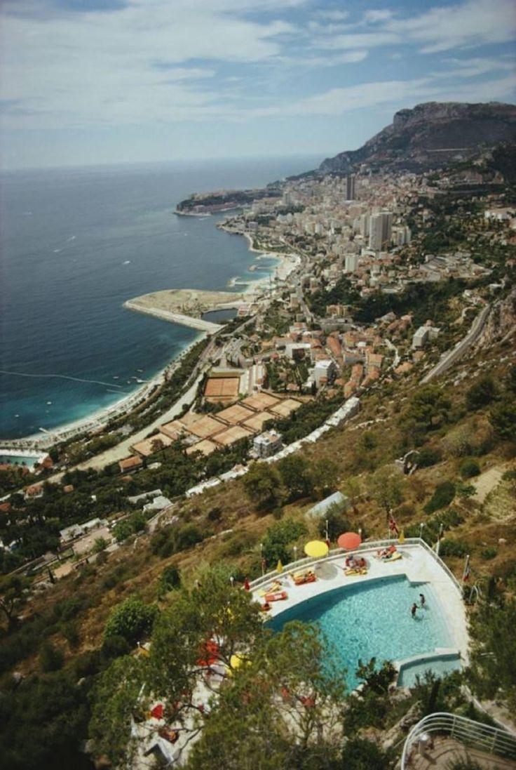 'Roquebrune-Cap-Martin' Monaco (Estate Stamped Edition)