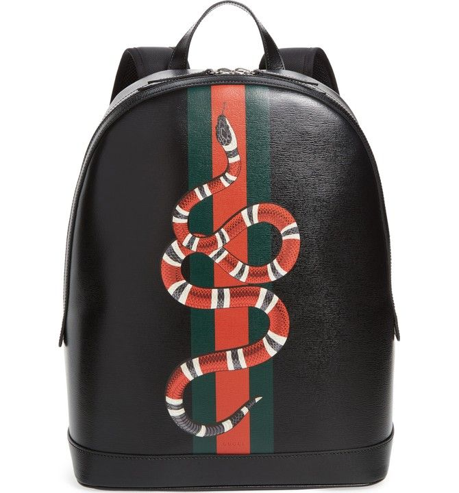 gucci backpack snake