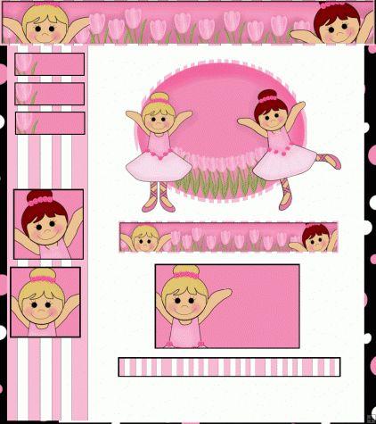 #Pink #Ballerina #Webset