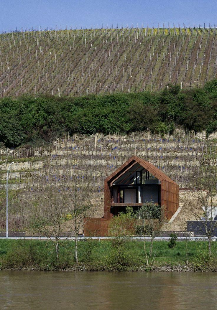 Wurth House in Wormeldange / HVP – nowoczesna STODOŁA | wnętrza & DESIGN…