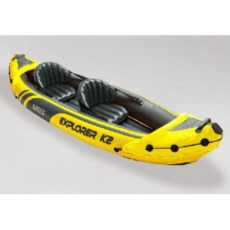 Intex Explorer K2 2-Person Kayak, Yellow