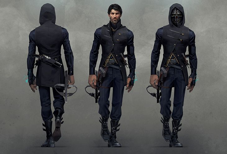Dishonored 2 – The Evolution of Emily & Corvo | Bethesda.net