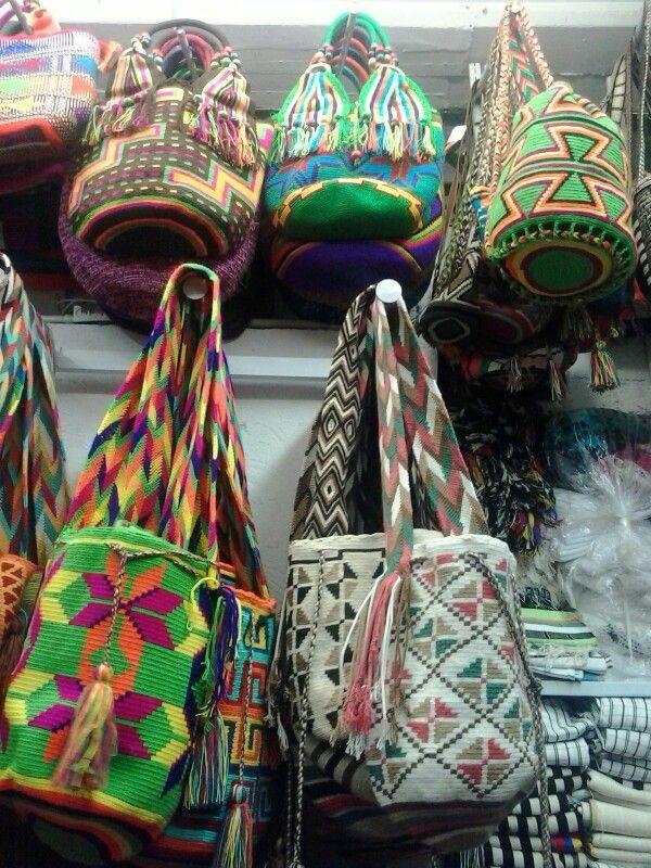 Mochilas Indígenas Wayu Valledupar Colombia
