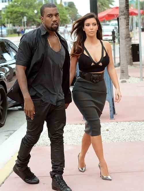 Kim Kardashian and Kanye West Heads to Dinner