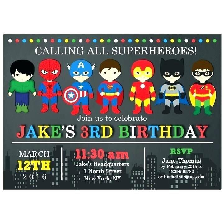 Pin On Birthday Superhero