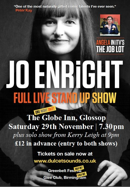 Jo Enright, Glossop, Nov 2014
