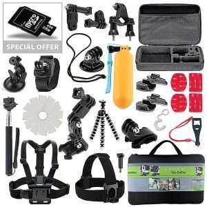 2.Top 10 Best Accessories Starter Kit for Gopro Reviews in 2016
